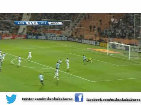 Magical Lionel Messi V Uruguay WC Qualifer 2014 match compilation