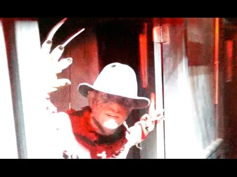 Freddy vs Jason house walk through at Halloween Horror Nights at Universal Orlando 2015