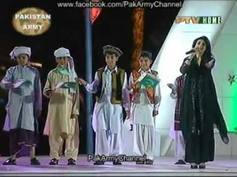 Tujhay Merhaba Tujhay Aafreen - Beautiful Mili Naghma.flv video