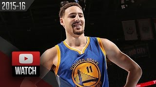 Klay Thompson Full Game 6 Highlights vs Thunder 2016 WCF - 41 Pts, 11 Treys, CRAZY!