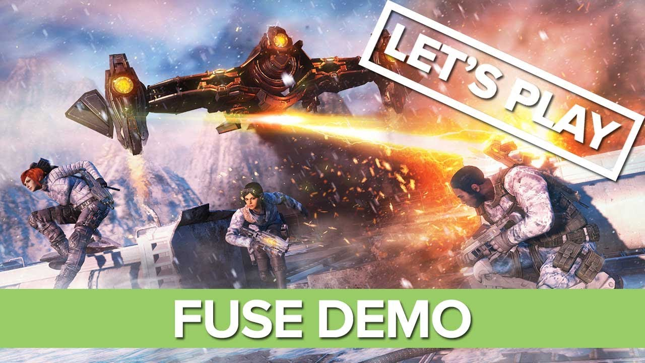 Fuse Xbox 360 Multiplayer : Let s play the fuse demo xbox hd gameplay youtube