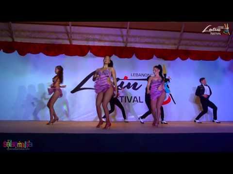 Adolfo & Tania & Latin Soul Dancers | Lebanon Latin Festival 2016