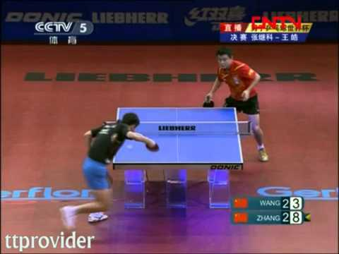 World Cup 2011: Zhang Jike-Wang Hao (Final)