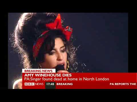 Amy Winehouse Dead - BBC News