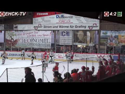 EHC Klostersee vs. Erding Gladiators (3.10.2014)