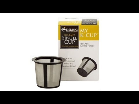 Keurig My K-Cup Reusable Coffee Filter Unboxing And Review