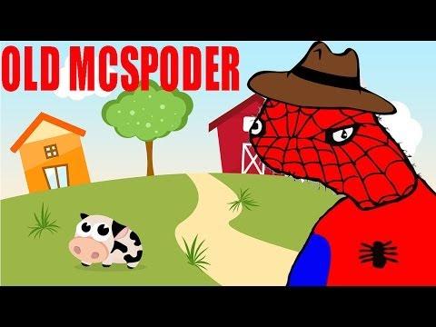 Spodermen: Old Mcspoder (full Song) - Old Macdonald Parody video