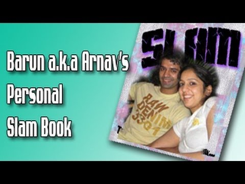 Arnav aka Barun Sobti's PERSONAL SLAM BOOK for FANS PART 2 of Iss ...