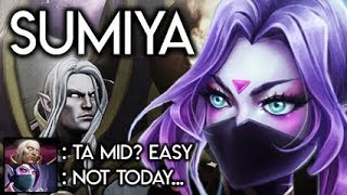 Sumiya Invoker God Destroyed by a TOP 6 Templar MID Hard Ranked Dota 2