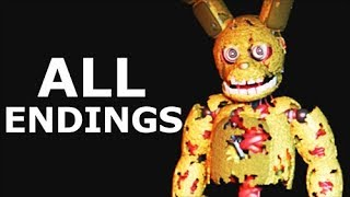 JOLLY 3: Chapter 2 ALL ENDINGS - Bad & Secret Good End - Walkthrough Gameplay (No Commentary)
