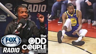 Rob Parker - Warriors Let Kevin Durant Down. KD NEVER SHOULD'VE PLAYED.