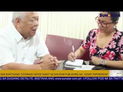 Sun.Star Publishing Inc., Cesafi nagpirmahanay alang sa Cesafi