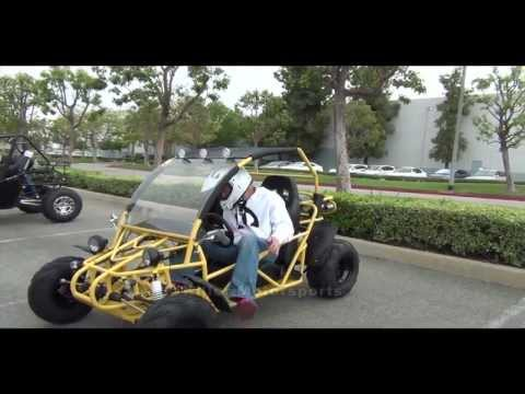 Killer Motorsports Sand Sniper 150 BMS Go Kart Demonstration