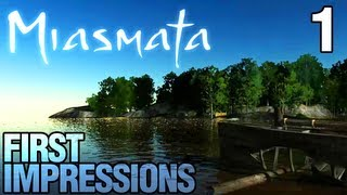 Miasmata First Impressions/Tutorial Gameplay with Commentary - Part 1