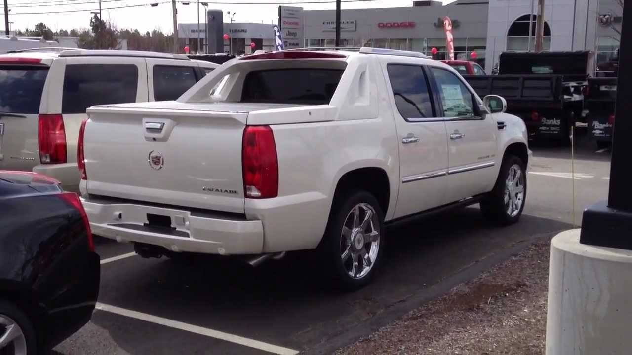 2012 Cadillac Escalade Platinum For Sale >> 2013 Cadillac Escalade EXT Walkaround, Overview - YouTube