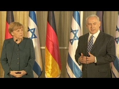 Netanyahu stresses Iran threat as Merkel visits Israel