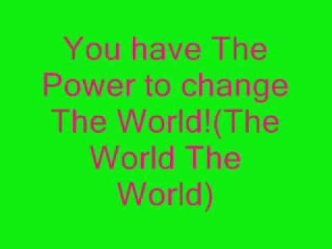 Winx club - the Power to change the world Lyrics