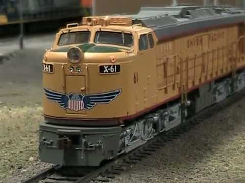 Athearn Union Pacific Veranda Turbine with Soundtraxx Tsunami decoder.