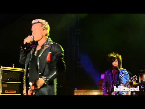 Billy Idol Live at Bonnaroo 2013