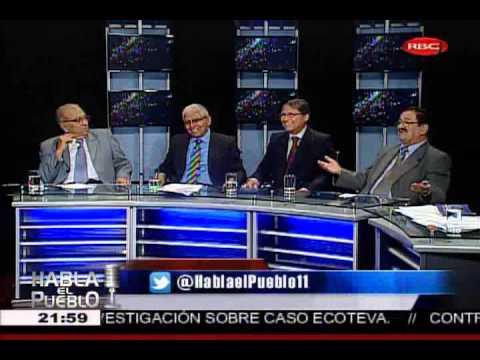 HABLA EL PUEBLO DEBATE SOBRE PENA DE MUERTE EN PERÚ (2/3) 20-11-13