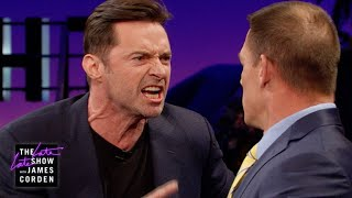 Download Lagu John Cena Teaches Hugh Jackman Reverse Trash Talking Gratis STAFABAND