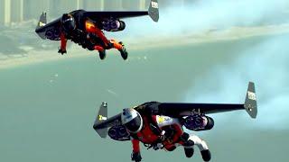 AMAZING Jet Pack Stunt Around Dubai | What