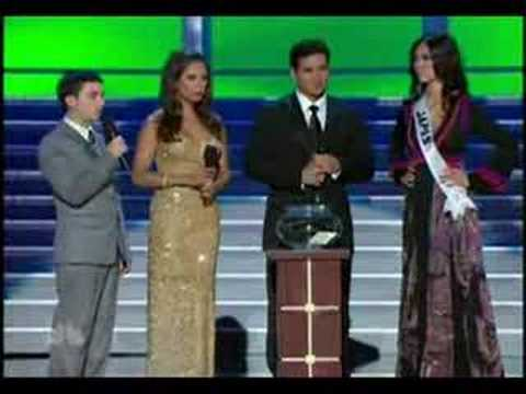 Miss Universe 2007 RIYO MORI and her QUEST FOR THE CROWN Video