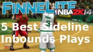 NBA 2K14 Money Plays: 5 Best Sideline Inbounds Plays Guide