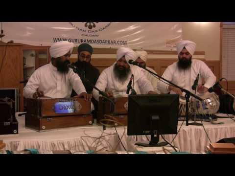 Gursikha Man Vadhaaeea - Bhai Harcharan Singh Khalsa at Guru Ram Das Darbar, Calgary