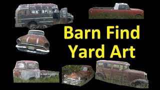 BARN FIND YARD ART CLASSIC CARS FOR SALE