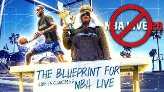 NBA LIVE FOUND THE BLUEPRINT TO COMEBACK AGAINST NBA 2K
