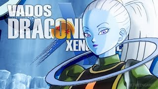 The Angel of Universe 6 Vados DLC Moveset Gameplay! | Dragon Ball Xenoverse 2