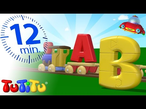 TuTiTu Preschool | ABC Puzzle Train | Learning the Alphabet with TuTiTu's Puzzle Train