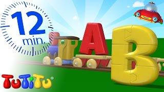 TuTiTu Preschool | ABC Puzzle Train | Learning the Alphabet with TuTiTu's Puzzle Train