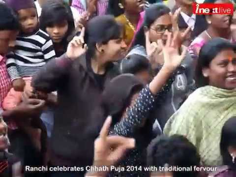 Ranchi celebrates Chhath Puja 2014 with traditional fervour