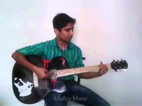 Dooba dooba rehta hun on Guitar-(Silk Route)