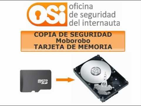 Moborobo copia de seguridad tarjeta microSD