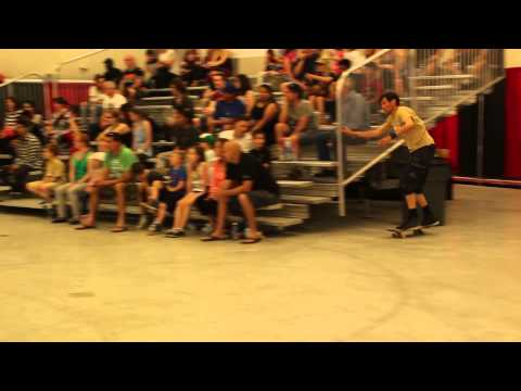 Andy Anderson & Guenter Mokulys   2015 World Round Up Freestyle Skateboard Champions