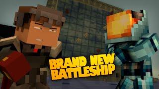 NEW Minecraft Battleship Destroyers | THE CHEATING BRANSON! | 1.8 Redstone (Battleship in Minecraft)