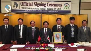 Người Việt ở Nhật Bản phản đối đặt tượng Hồ Chí Minh