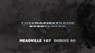 Craziest High School Football Game Ever Played II Meadville vs. Dubois 2015