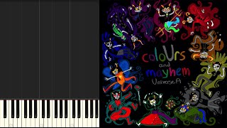 Homestuck | Iron Infidel (ColoUrs and Mayhem: Universe A Album) Synthesia