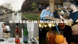 Visiting my Brother in Ann Arbor, Michigan | Vlog