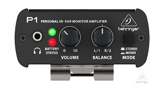 POWERPLAY P1 Personal In-Ear Monitor Amplifier