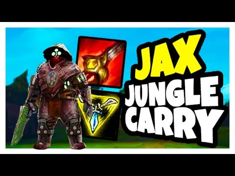 EASY CHAMPION EASY CARRY - Jax Jungle Gameplay - League of Legends