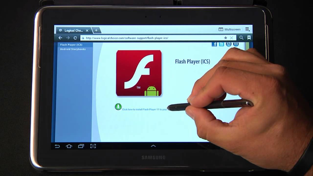 Flash Player На Андроид