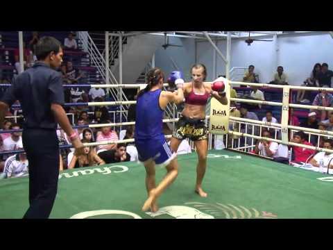 Patrizia (sinbi Muay Thai) Wins By Ko At Bangla Boxing Stadium video