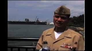 Meet the 1st Fil-Am to take command of a US aircraft carrier