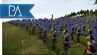 MIGHTY CAVALRY CHARGE - Shogun 2 Total War Gameplay