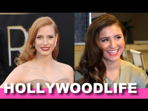 Get the look: Jessica Chastain 2013 Oscar Hair